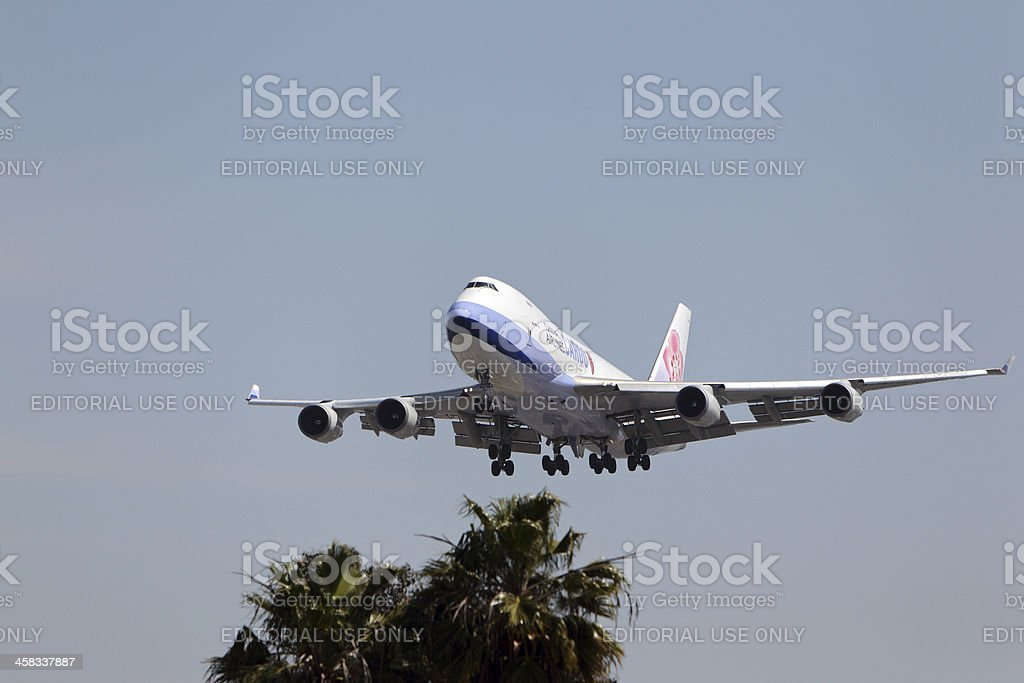 China Airlines Cargo Boeing 747-409F royalty-free stock photo