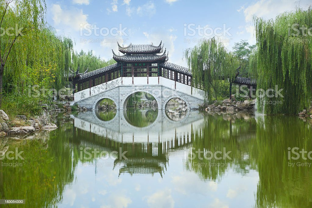 China Ancient Architecture stock photo