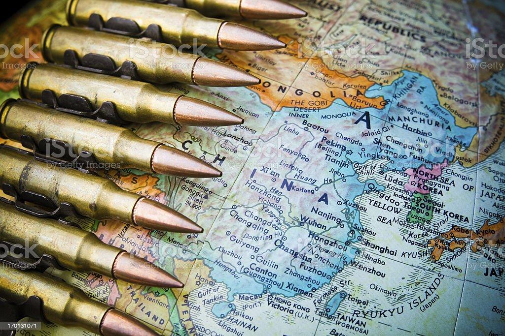 China at War stock photo