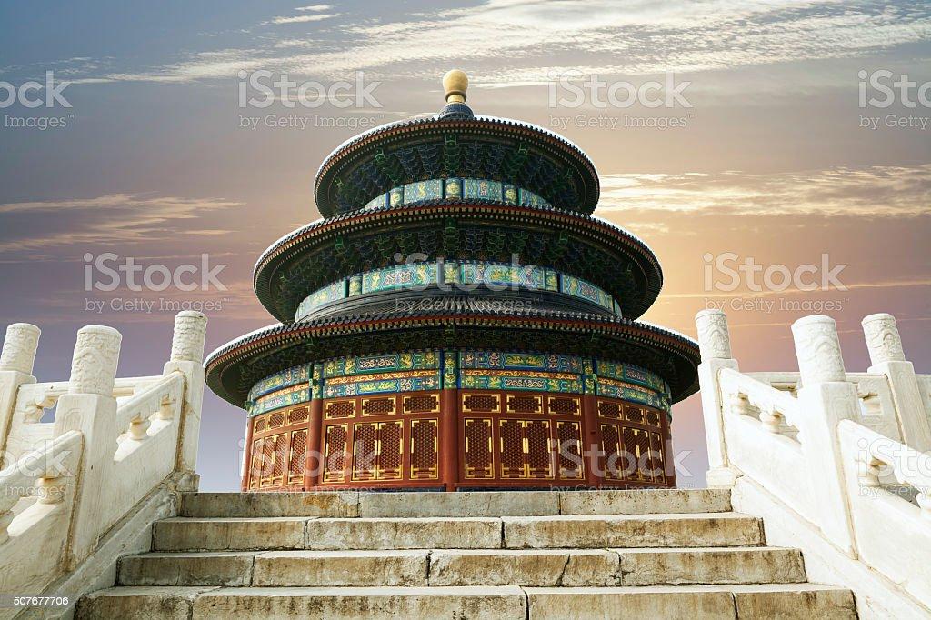 China Beijing Temple of Heaven stock photo