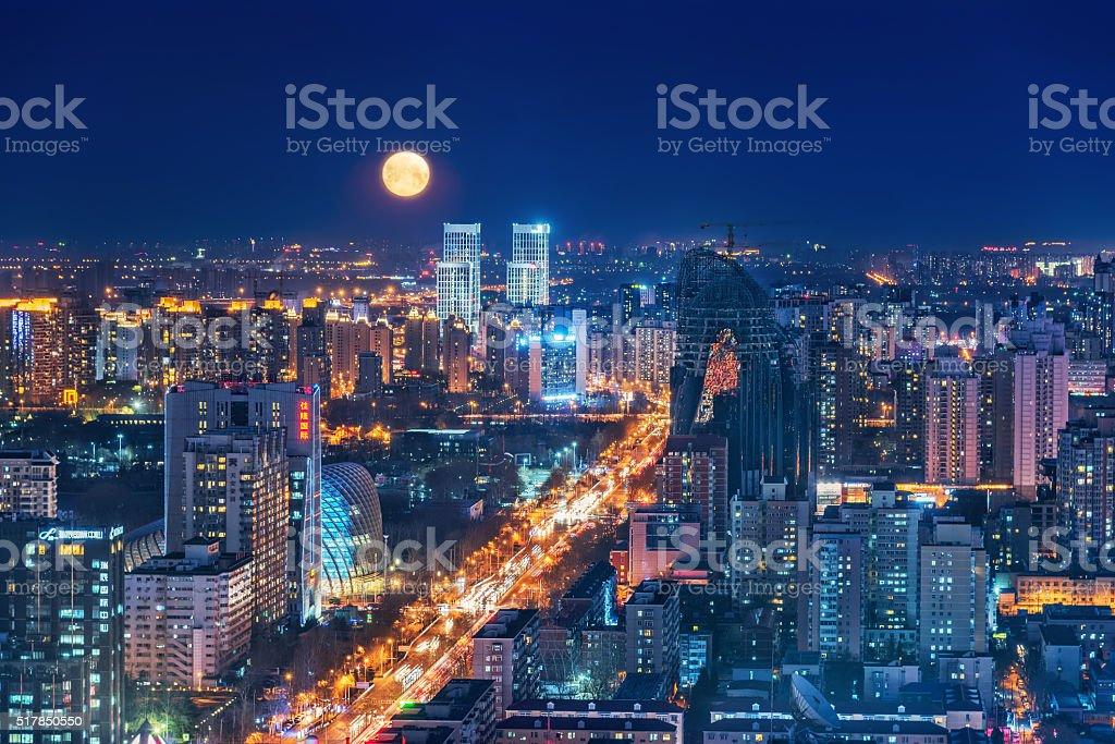 China Beijing Urban Landscape stock photo