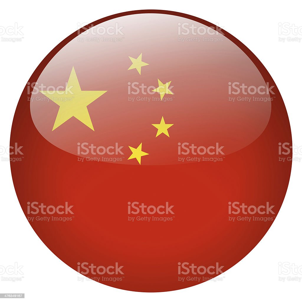 China button stock photo
