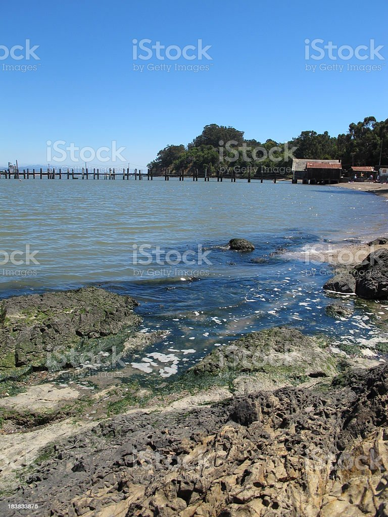 China Camp State Park Seashore in California stock photo