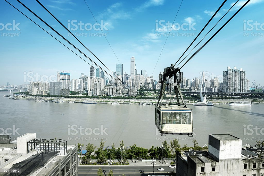 China Chongqing Urban Landscape stock photo