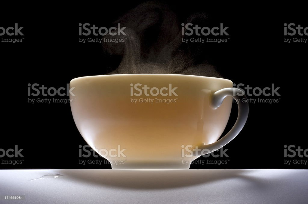 China cup of tea. royalty-free stock photo