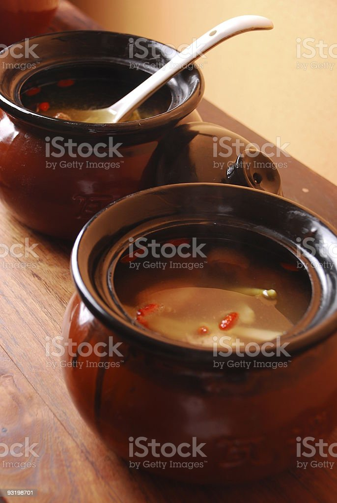 china delicious food-- chicken soup royalty-free stock photo