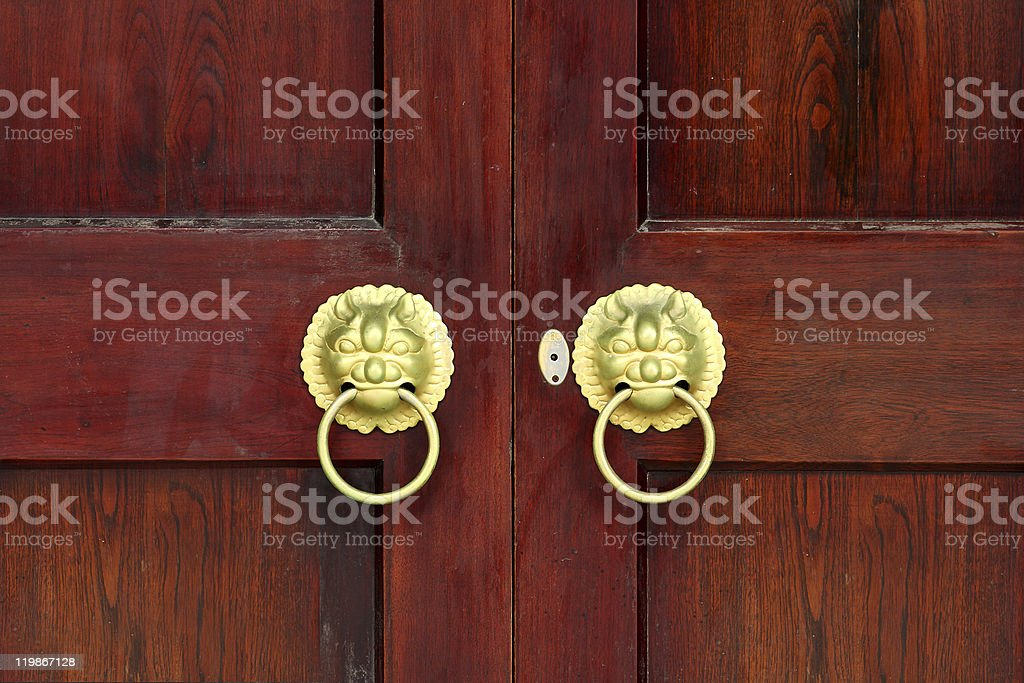 China door royalty-free stock photo