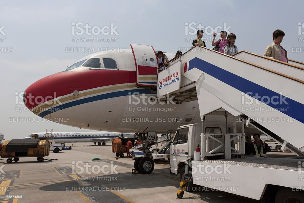 China Eastern Airlines : Airbus A320-200 stock photo