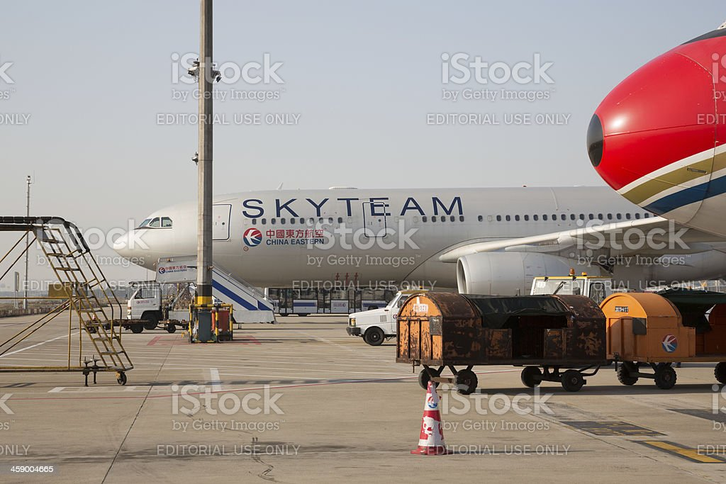 China Eastern Airlines royalty-free stock photo