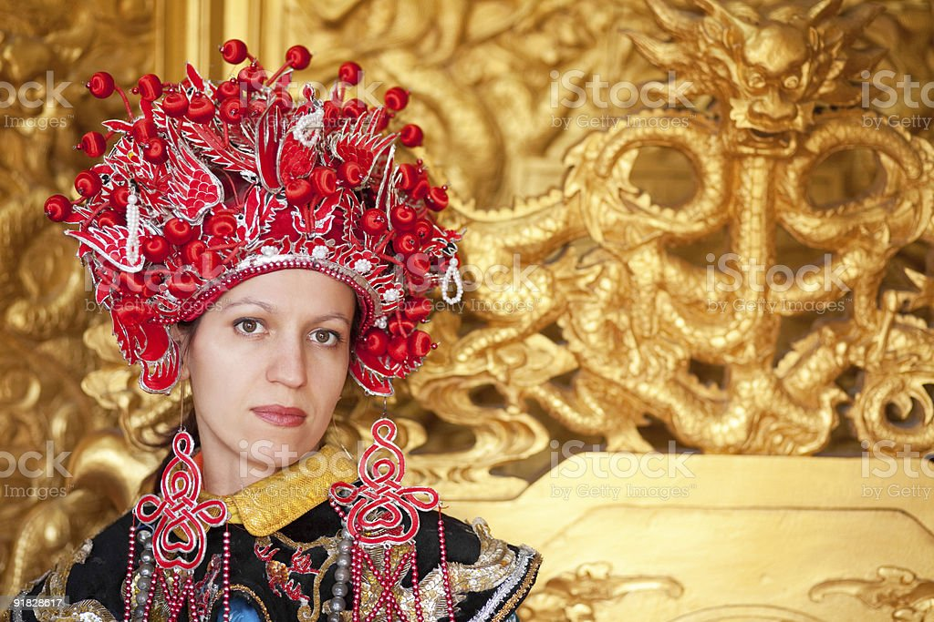 China empress stock photo