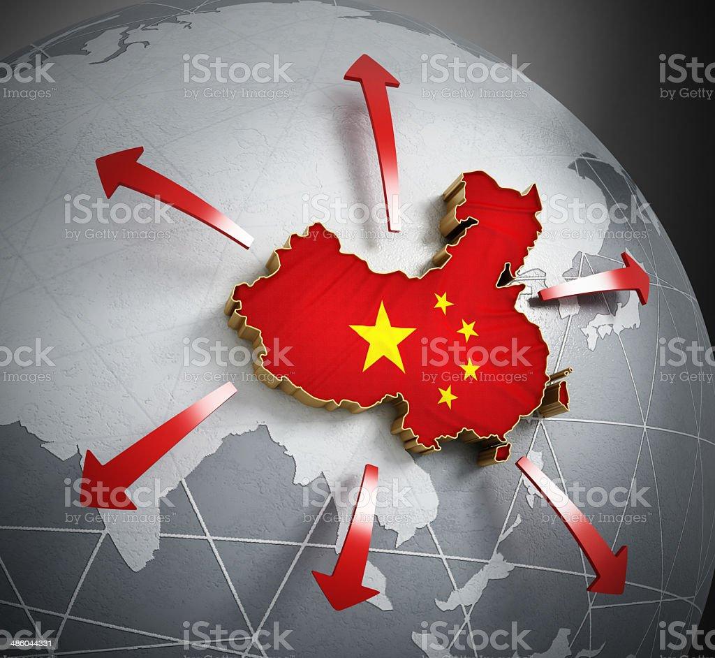 China exportation stock photo