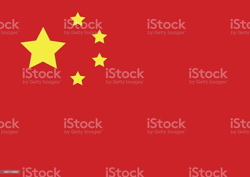 China flag stock photo