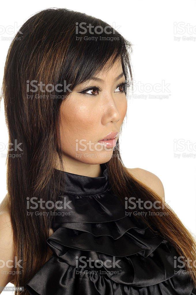 China Girl stock photo
