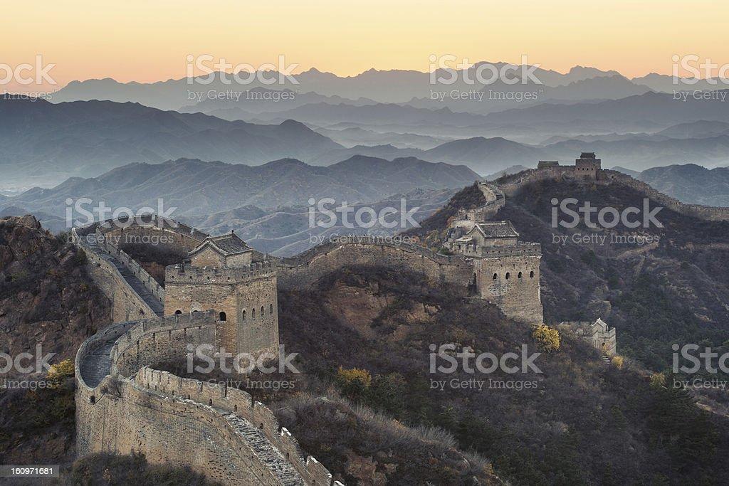 China Great Wall royalty-free stock photo