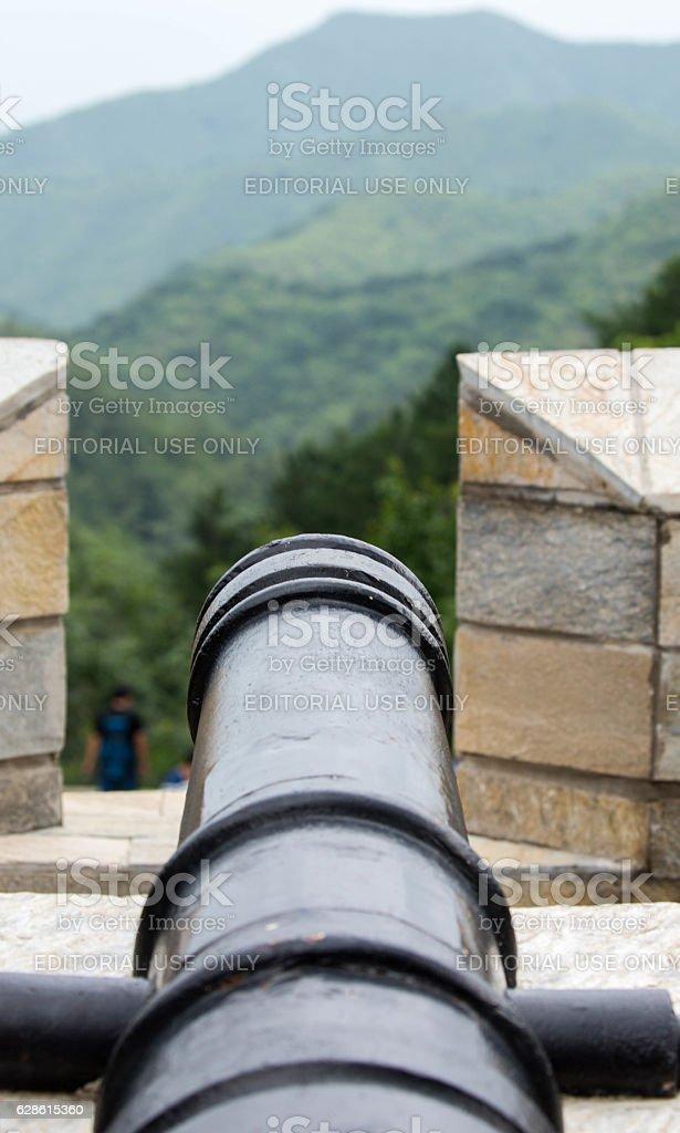 China: Great Wall (Jinshanling) stock photo
