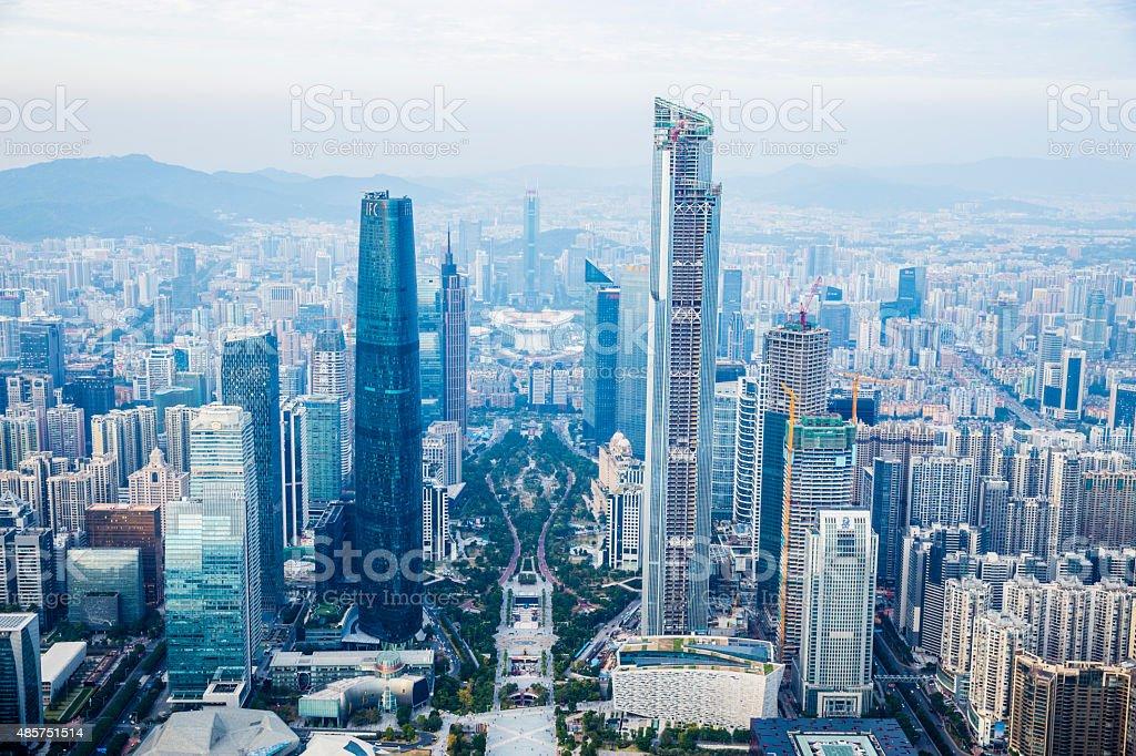 China Guangzhou Cityscape stock photo