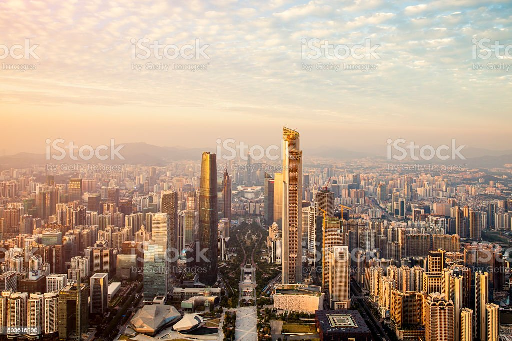 China Guangzhou Cityscape stock photo