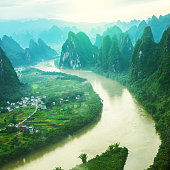 China Guilin Messire mountain scenery