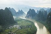China Guilin Messire mountain scenery