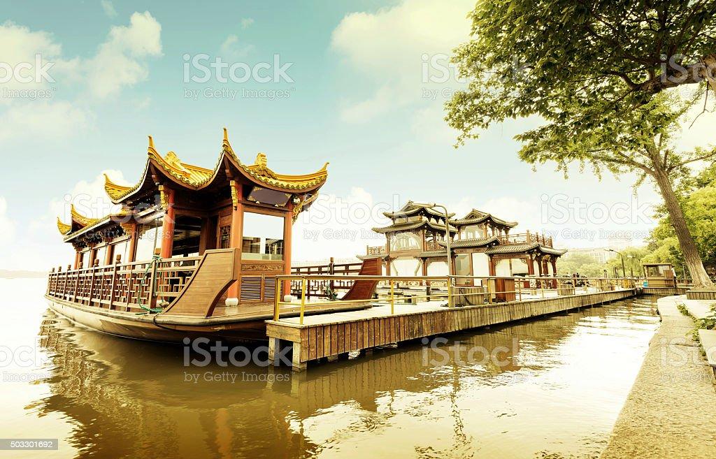 China Hangzhou West Lake stock photo
