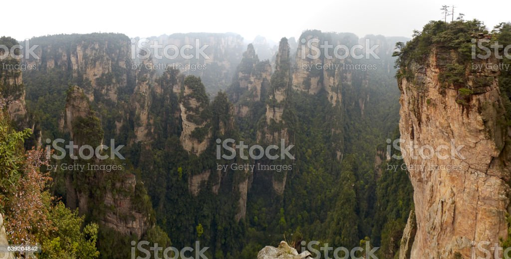 China, Hunan province, Zhangjiajie National Park (Avatar Park), stock photo