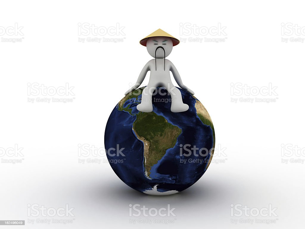 China in Global Business stock photo