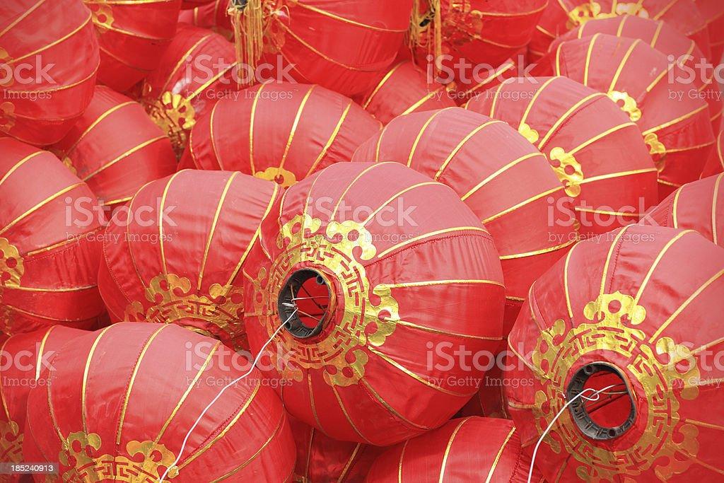 China Lantern royalty-free stock photo