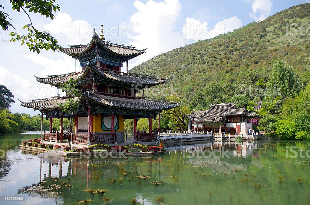 China Lijiang royalty-free stock photo