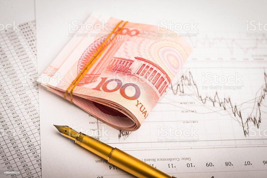 China Money stock photo