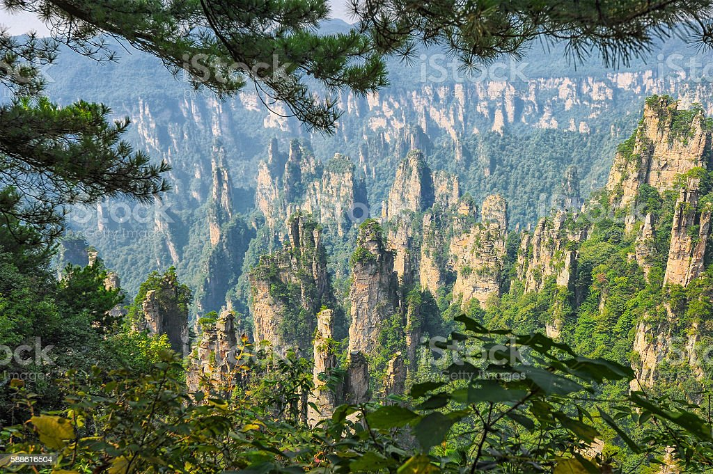 China nature landscape stock photo