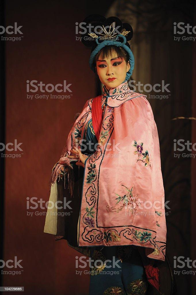 china opera Actress royalty-free stock photo