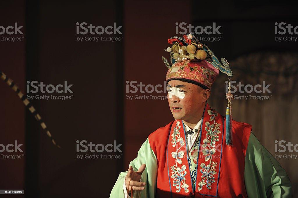 china opera clown royalty-free stock photo
