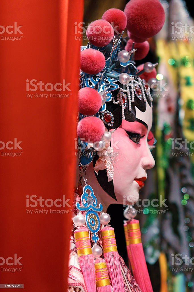 china opera stock photo