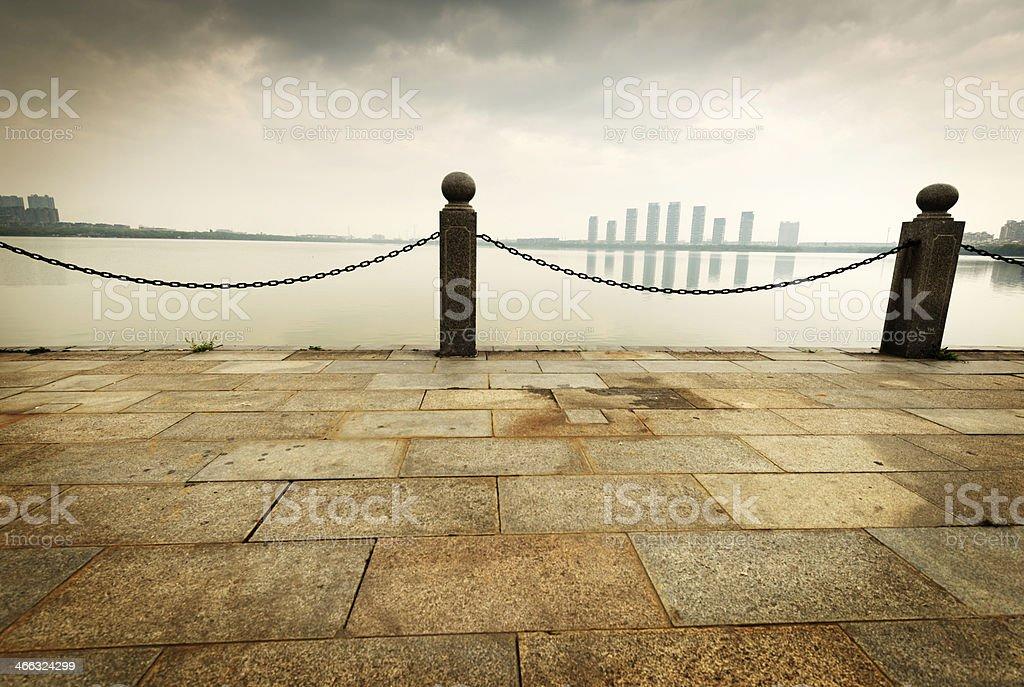 China Shanghai Bund stock photo