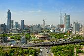 China Shanghai People square