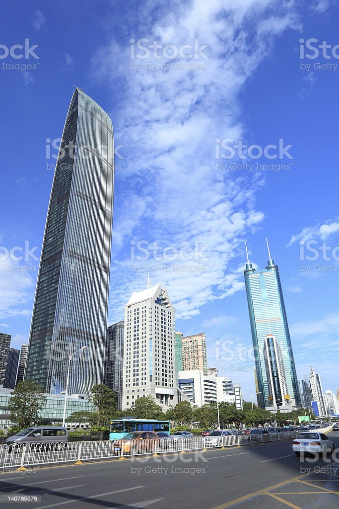 China shenzhen royalty-free stock photo