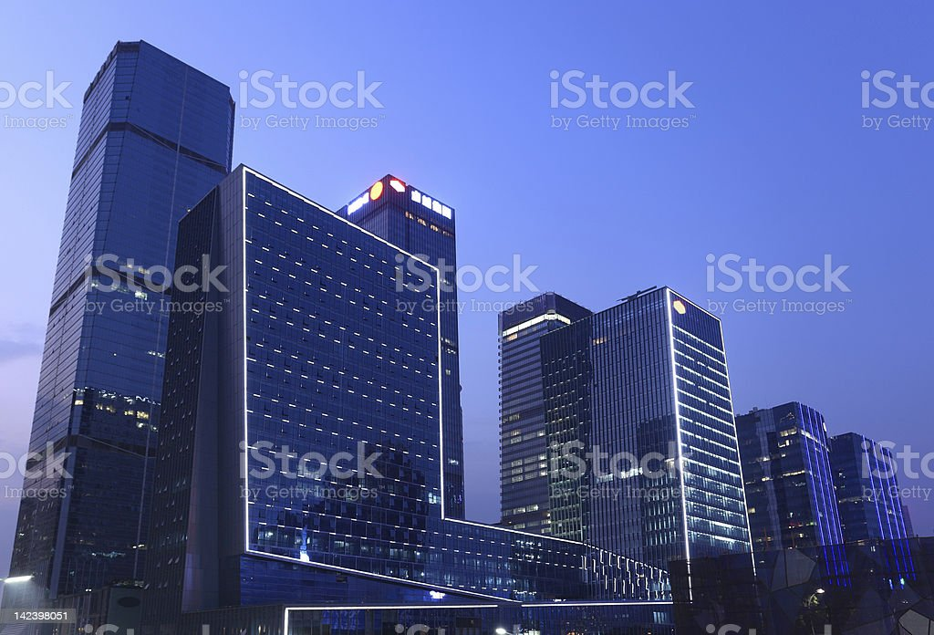 China shenzhen royalty-free stock photo