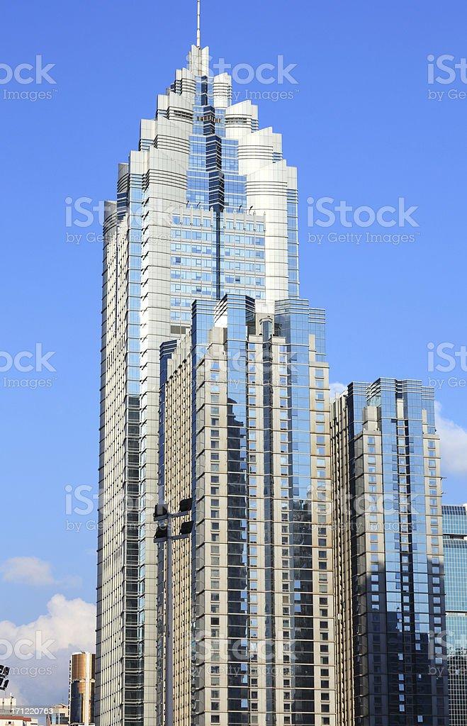 China shenzhen Skyscraper royalty-free stock photo