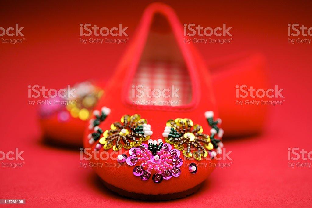 china shoes royalty-free stock photo