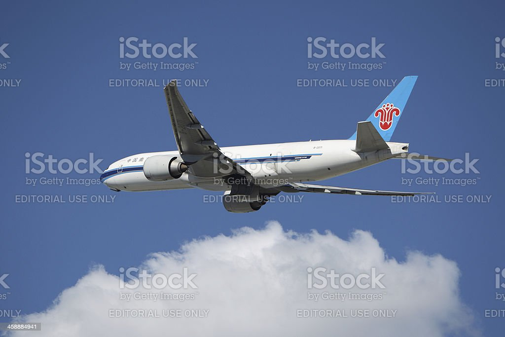 China Southern Airlines Boeing 777 royalty-free stock photo