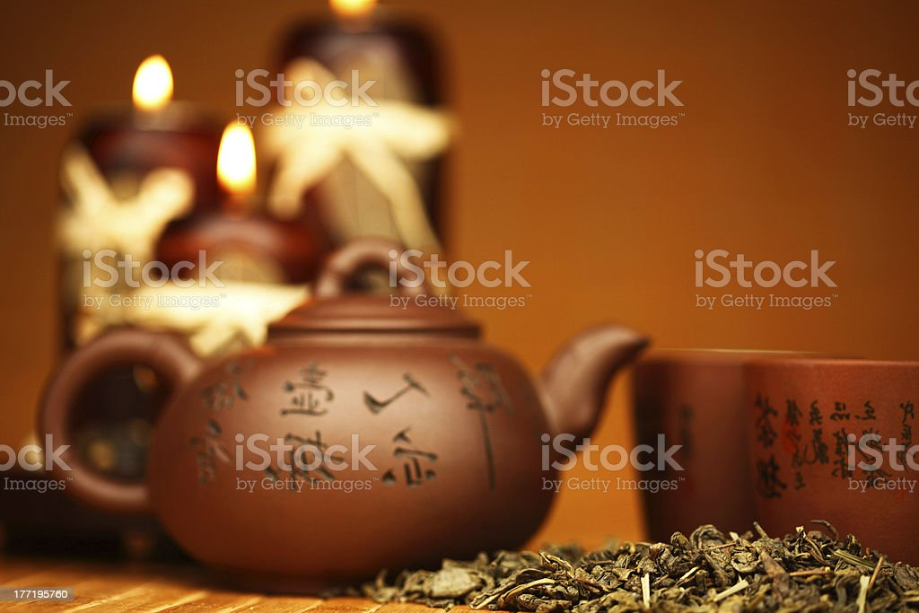 china tea royalty-free stock photo