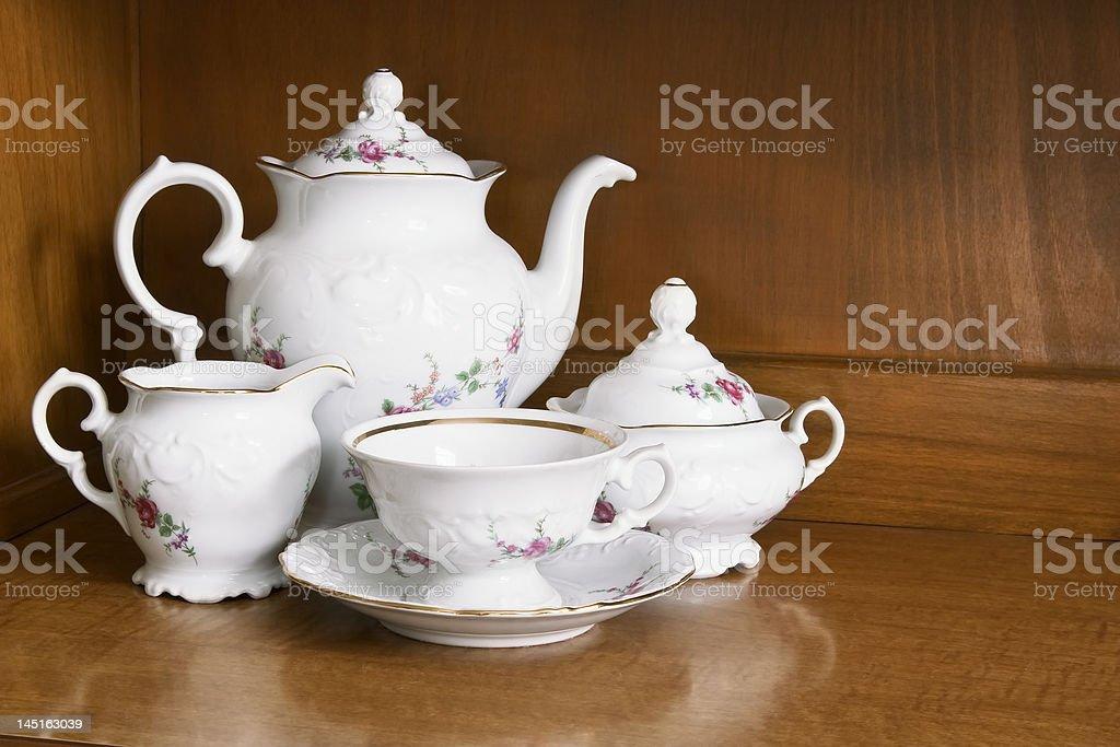 China Tea Set royalty-free stock photo