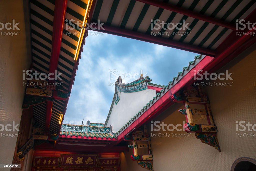 China temple 1 stock photo