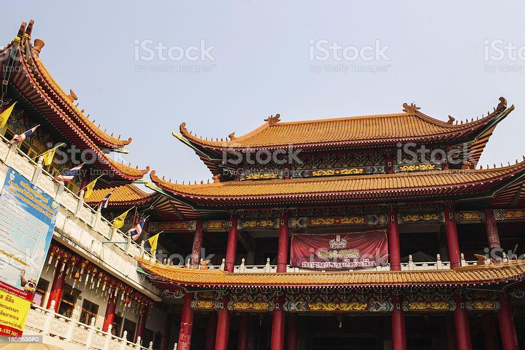 China temple royalty-free stock photo