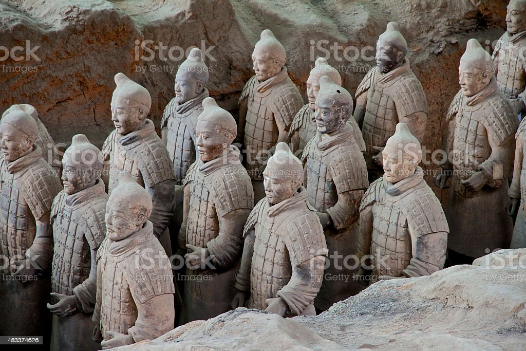 China Terracotta Warriors stock photo