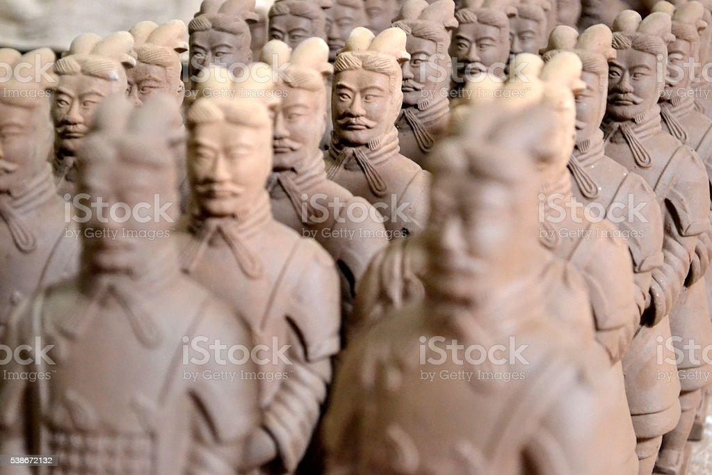China, Terracotta warriors stock photo