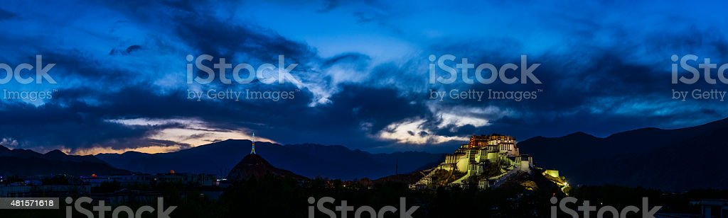 China, Tibet, Lhasa, Potala Palace stock photo