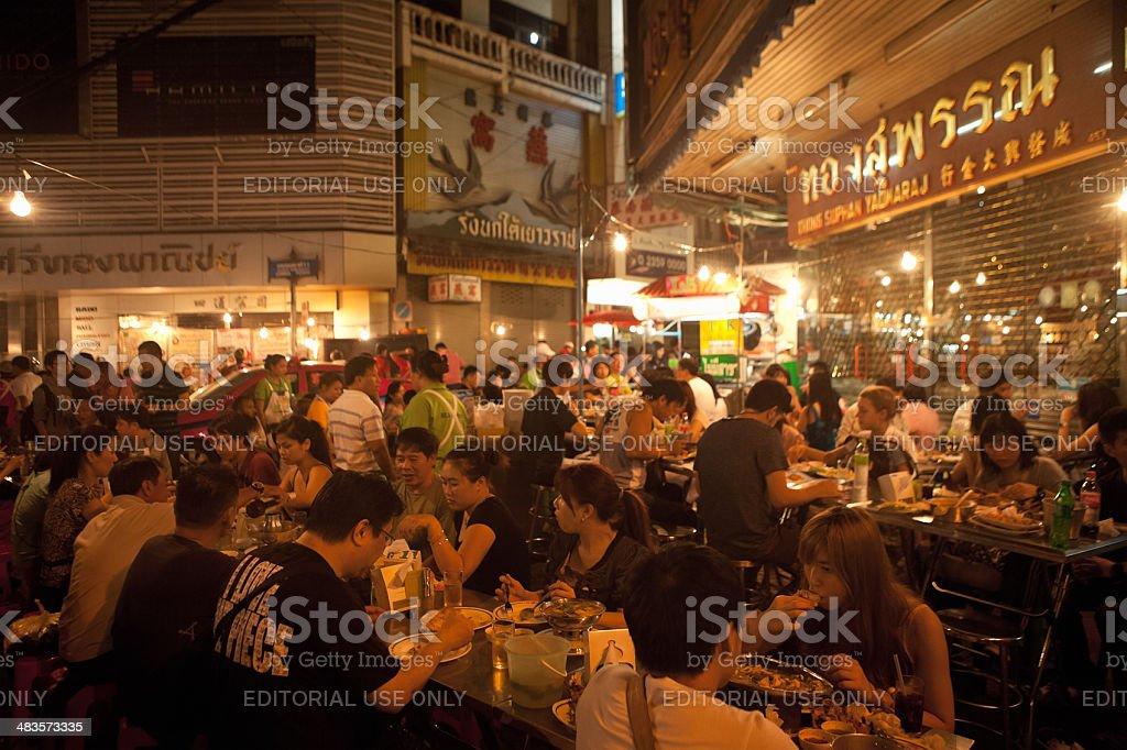 China Town Dining, Bangkok, Thailand royalty-free stock photo