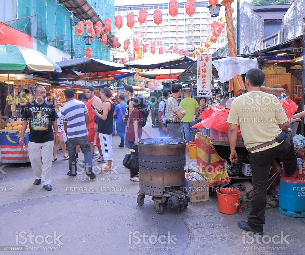 China Town Kuala Lumpur stock photo