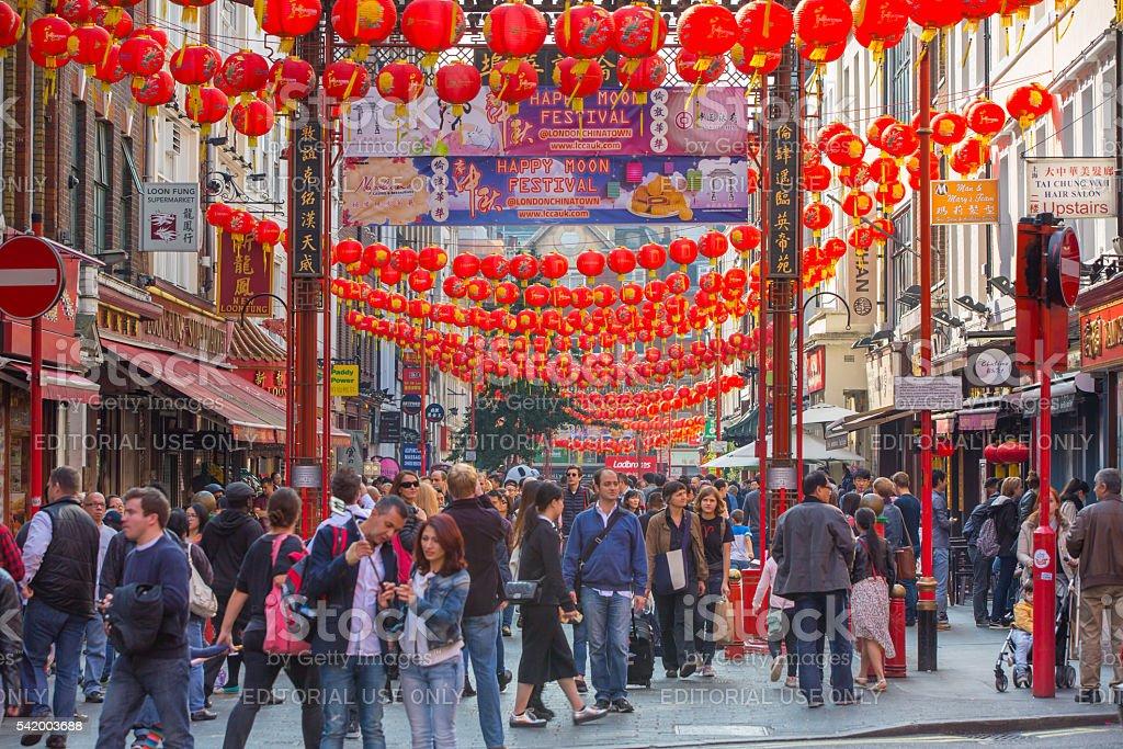 China Town, London stock photo